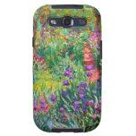Claude Monet: El jardín del iris en Giverny Samsung Galaxy S3 Carcasa
