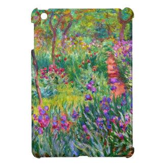 Claude Monet El jardín del iris en Giverny iPad Mini Carcasas