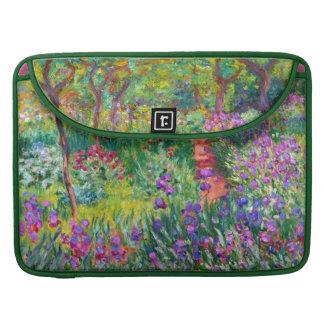 Claude Monet: El jardín del iris en Giverny Funda Macbook Pro