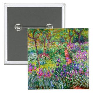 Claude Monet: El jardín del iris en Giverny Pin