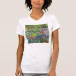 Claude Monet: El jardín del iris en Giverny T Shirt