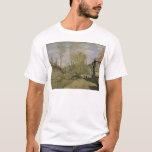 Claude Monet el   la corriente de Robec en Ruán, Playera