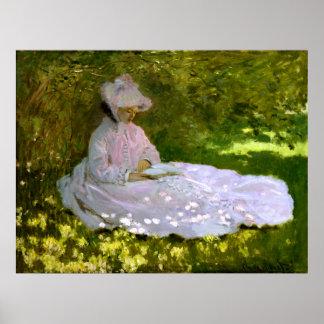 Claude Monet: El lector Posters