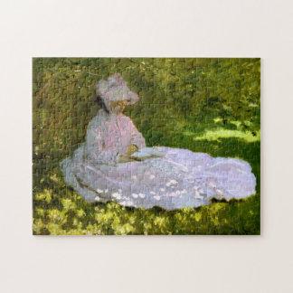 Claude Monet: El lector Puzzle