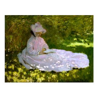 Claude Monet: El lector Tarjetas Postales