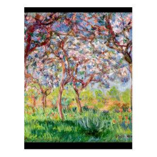 Claude Monet el | Printemps un Giverny, 1903 Tarjetas Postales