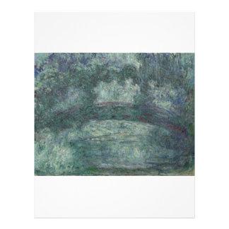 Claude Monet - el puente japonés Tarjetón