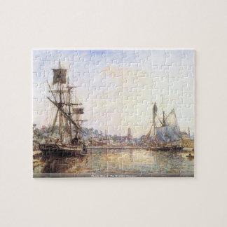 Claude Monet - el puerto marítimo de Honfleur Puzzles Con Fotos