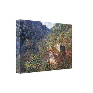 Claude Monet - el valle Sasso, Bordighera Impresion De Lienzo