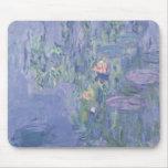 Claude Monet el   Waterlilies Tapetes De Raton