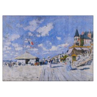 Claude Monet: En la playa de Trouville Tabla De Cortar