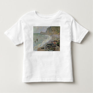 Claude Monet | Etretat, beach and Porte d'Amont Toddler T-shirt
