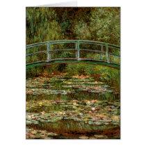 Claude Monet Famous Art Bridge Painting