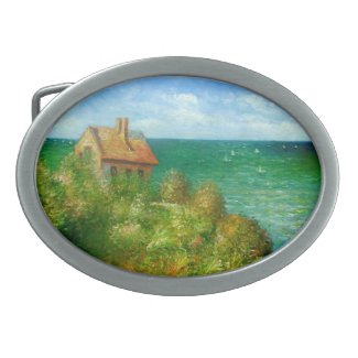 Claude Monet: Fishermans Cottage At Varengeville