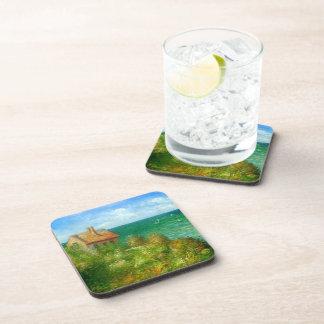 Claude Monet: Fishermans Cottage At Varengeville Beverage Coaster