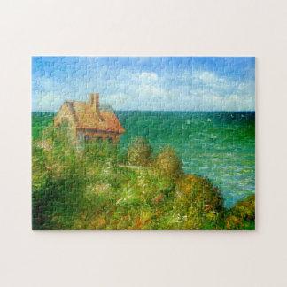 Claude Monet: Fishermans Cottage At Varengeville Jigsaw Puzzle