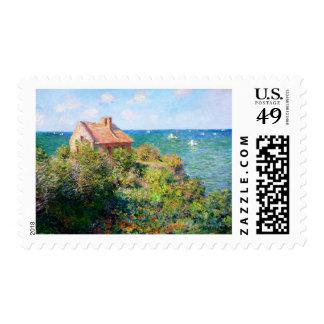 Claude Monet: Fishermans Cottage at Varengeville Postage