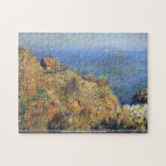 Claude Monet - Fishermans lodge at Varengeville Jigsaw Puzzle