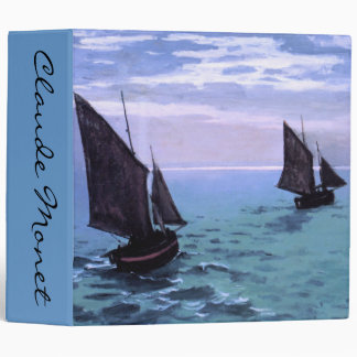 Claude Monet: Fishing Boats on their Way Binder