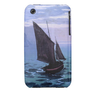 Claude Monet: Fishing Boats on their Way iPhone 3 Case