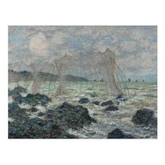 Claude Monet - Fishing Nets at Pourville Postcard