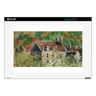 "Claude Monet - Flowering Plum Trees 15"" Laptop Decal"
