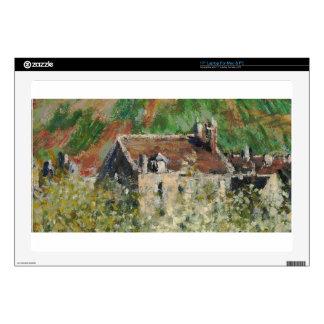 "Claude Monet - Flowering Plum Trees Skin For 17"" Laptop"