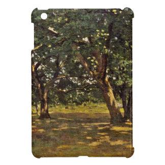 Claude Monet Fontainebleau Forest iPad Mini Covers