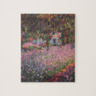 Claude Monet // Garden at Giverny Jigsaw Puzzle