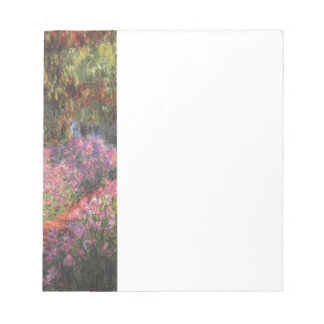 Claude Monet // Garden at Giverny Memo Notepads