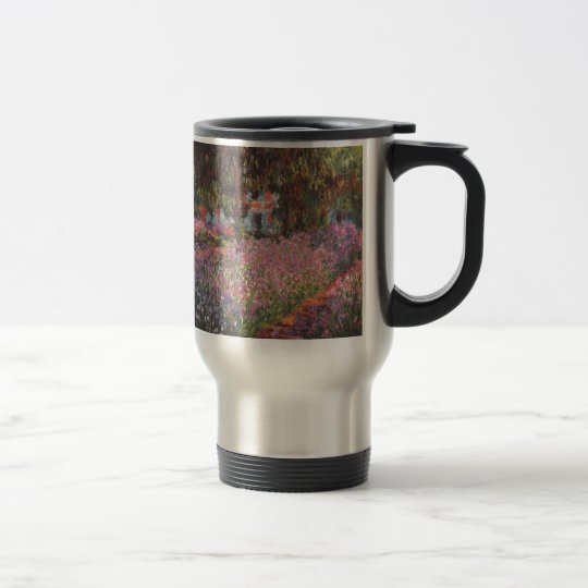 Claude Monet // Garden at Giverny Travel Mug