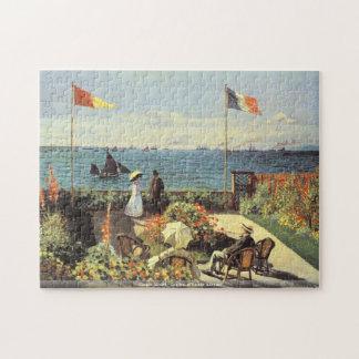 Claude Monet - Garden at Sainte Adresse puzzle