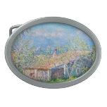 Claude Monet: Gardeners House at Antibes Belt Buckle