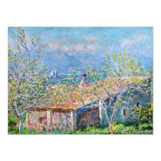 Claude Monet: Gardeners House at Antibes Card