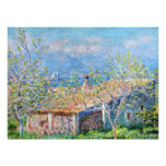 Claude Monet: Gardeners House at Antibes Personalized Announcement