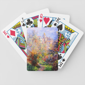 Claude Monet: Gardens of the Villa Moreno Bordighe Bicycle Playing Cards