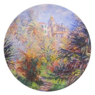 Claude Monet: Gardens of the Villa Moreno Bordighe Party Plates