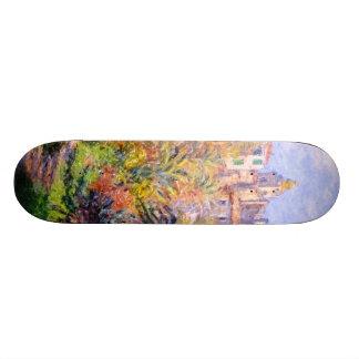 Claude Monet: Gardens of the Villa Moreno Bordighe Skateboard