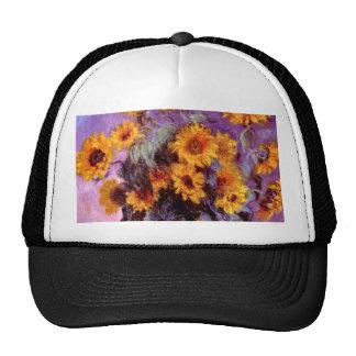 Claude Monet: Girasoles Gorra
