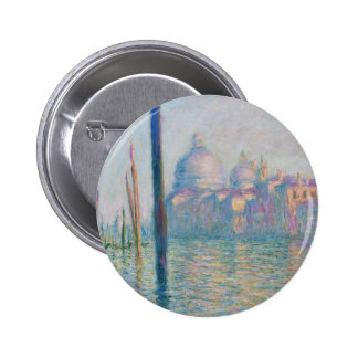 Claude Monet Grand Canal Venice Italy Travel Button