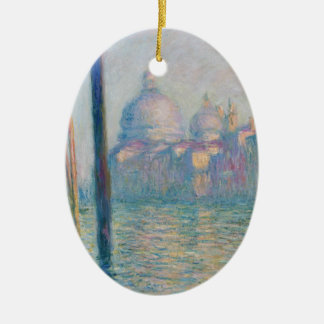 Claude Monet Grand Canal Venice Italy Travel Ceramic Ornament