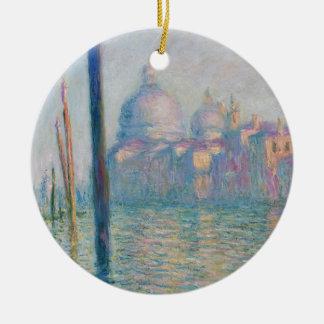 Claude Monet Grand Canal Venice Italy Travel Ceramic Ornament