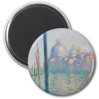 Claude Monet Grand Canal Venice Italy Travel Magnet