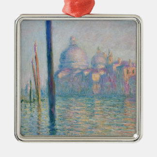 Claude Monet Grand Canal Venice Italy Travel Metal Ornament