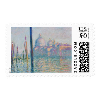 Claude Monet Grand Canal Venice Italy Travel Postage