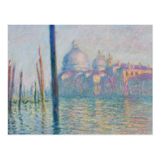 Claude Monet Grand Canal Venice Italy Travel Postcard