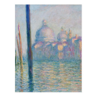 Claude Monet Grand Canal Venice Italy Travel Postcard