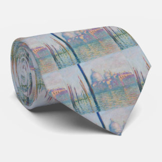 Claude Monet Grand Canal Venice Italy Travel Tie