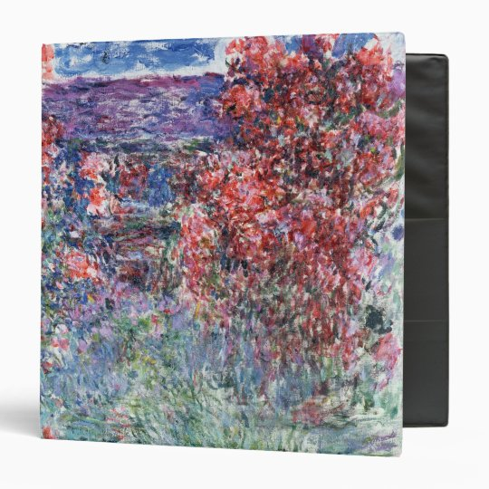 Claude Monet | House at Giverny under the Roses Binder