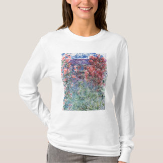 Claude Monet | House at Giverny under the Roses T-Shirt